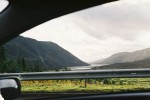 Loch Katrine from the car